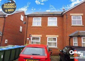 Thumbnail 5 bed end terrace house to rent in Avenue Road, Southampton