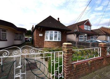 Thumbnail 1 bed detached bungalow for sale in Stanley Road North, Rainham