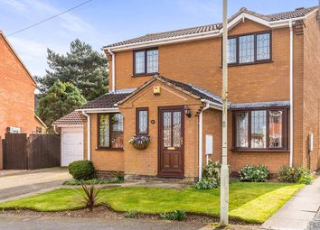 Thumbnail 3 bedroom detached house for sale in Knights Link, Earl Shilton, Leicester