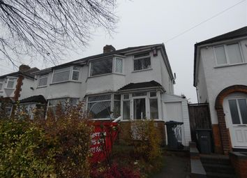 Thumbnail 3 bed semi-detached house to rent in Steyning Road, South Yardley, Birmingham