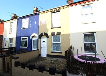 Thumbnail 3 bed terraced house to rent in Winifred Road, Great Yarmouth