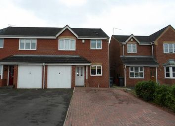 Thumbnail 3 bed semi-detached house for sale in Stadium Close, Coalvile