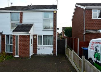 Thumbnail 2 bedroom town house to rent in Borrowdale Close, Earl Shilton, Leicestershire