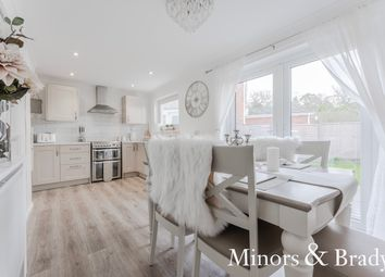 Thumbnail 3 bed semi-detached house for sale in Birch Court, Sprowston, Norwich