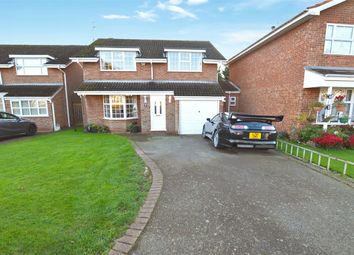 Thumbnail 4 bed detached house for sale in Moat Farm Drive, Hillmorton, Rugby, Warwickshire