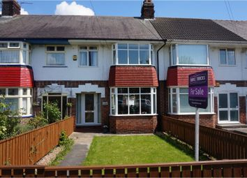 Thumbnail 3 bed terraced house for sale in First Lane, Hessle