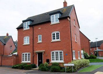 Thumbnail 4 bedroom detached house for sale in Thomas Drive, Countesthorpe, Leicester