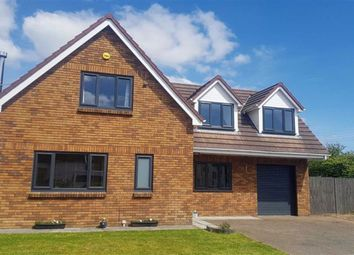 Thumbnail 4 bed detached house for sale in The Croft, Loughor, Swansea