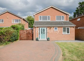 Thumbnail 4 bed detached house for sale in Hardwick Court, Longthorpe, Peterborough