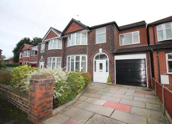 Thumbnail 4 bed semi-detached house for sale in Beverley Avenue, Urmston, Manchester