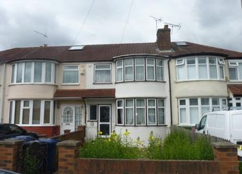 Thumbnail 3 bed terraced house for sale in Conway Crescent, Perivale, Greenford, Middlesex