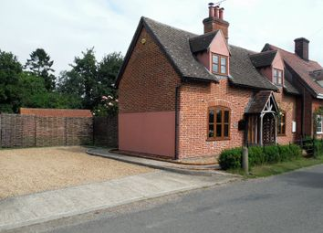 Thumbnail 2 bed semi-detached house for sale in Hitcham, Ipswich, Suffolk