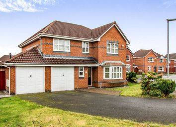Thumbnail 4 bed detached house for sale in Sutton Close, Bury