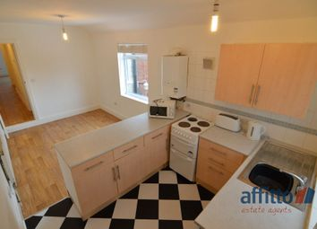 Thumbnail 1 bed flat to rent in Central Road, Hugglescote, Coalville