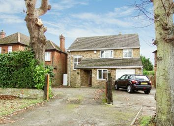 Thumbnail 4 bed detached house to rent in Goldsworth Road, Woking