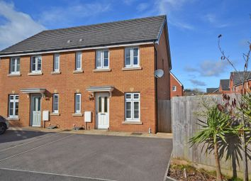 Thumbnail 3 bed semi-detached house for sale in Superb Modern House, Rhymney Way, Newport