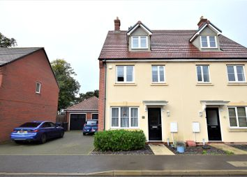 Thumbnail 4 bed semi-detached house for sale in Oak Grove, Northampton