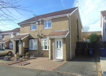 Thumbnail 2 bed semi-detached house for sale in Rosedale Court, West Denton, Newcastle Upon Tyne