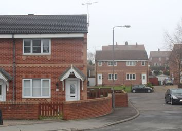 Thumbnail 2 bed end terrace house to rent in Barnsley Road, Hemsworth, Pontefract