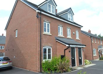 Thumbnail 3 bed semi-detached house for sale in Old Church Road, Courthouse Green, Coventry, Westmidlands