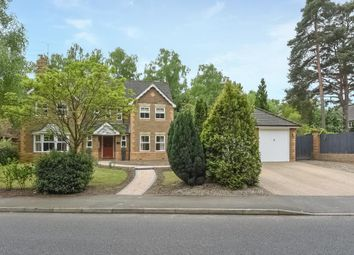 Thumbnail 5 bed detached house for sale in Little Fryth, Finchampstead