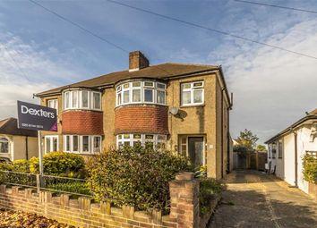 Thumbnail 3 bed semi-detached house for sale in Glasbrook Avenue, Twickenham