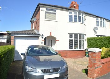 Thumbnail 3 bed semi-detached house for sale in Carlton Road, Leyland