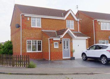 Thumbnail 3 bed detached house for sale in Knaresborough Close, Bedlington