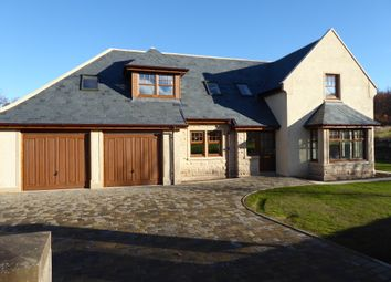 Thumbnail 4 bed detached house for sale in Quarrywood, Elgin