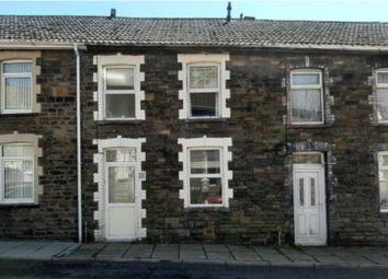 Thumbnail 3 bed property to rent in Marian Street, Blaengarw, Bridgend