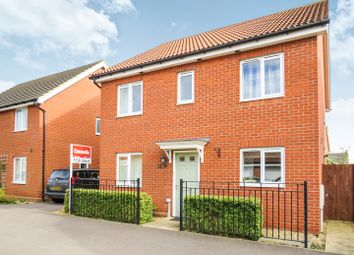 Thumbnail 4 bed detached house for sale in Blenheim Close, Upper Cambourne, Cambridge