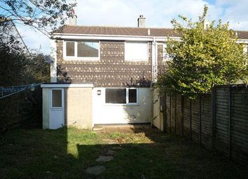 Thumbnail 3 bed end terrace house to rent in Trehane Road, Camborne