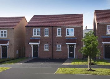 Thumbnail 3 bed semi-detached house for sale in Geranium Drive, Northgate, Morpeth, Northumberland