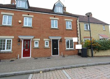 Thumbnail 4 bed town house to rent in Ulysses Road, Swindon, Wiltshire