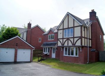 Thumbnail 4 bed detached house to rent in New Court, Broadlands, Bridgend.