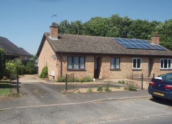 Thumbnail 2 bed bungalow to rent in Eversden Road, Harlton