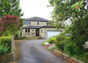 Thumbnail 4 bed detached house for sale in Bradford Road, Oakenshaw, Bradford, West Yorkshire