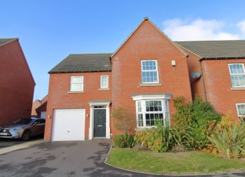 Thumbnail 4 bed detached house for sale in Southwold Close, Market Harborough