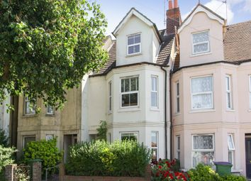 Thumbnail 4 bed terraced house for sale in Canterbury Road, Folkestone
