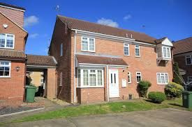 Thumbnail 1 bedroom semi-detached house to rent in The Lawns, Fields End, Hemel Hempstead, Hertfordshire