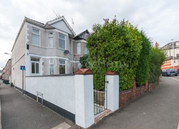 Thumbnail 4 bed end terrace house for sale in Somerton Road, Off Chepstow Road, Newport.