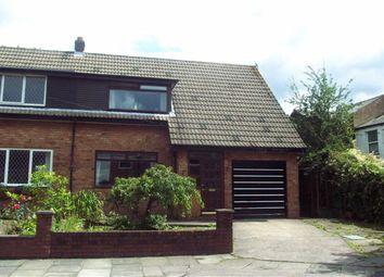 Thumbnail 3 bed semi-detached bungalow to rent in Arden Close, Ashton-Under-Lyne