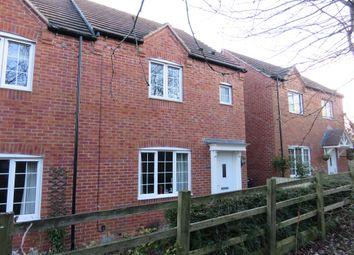 Thumbnail 3 bed semi-detached house for sale in Wharf Gardens, Bingham, Nottingham