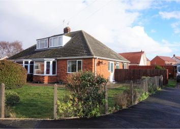 Thumbnail 2 bed semi-detached bungalow for sale in Earl Avenue, New Waltham, Grimsby
