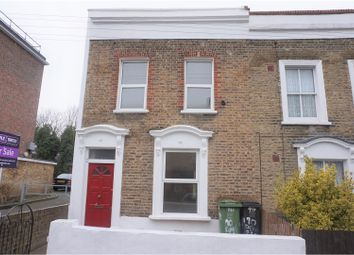 Thumbnail 3 bed end terrace house for sale in Dennetts Road, New Cross