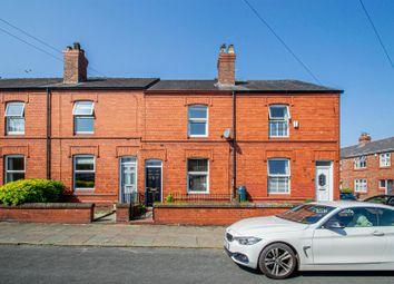 Thumbnail 2 bed terraced house to rent in Hawthorne Road, Stockton Heath, Warrington