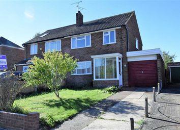 Thumbnail 3 bed semi-detached house to rent in Parkfield Road, Rainham, Gillingham