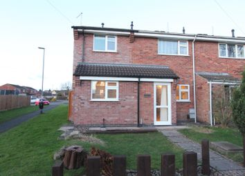 Thumbnail 4 bed end terrace house for sale in Weston Close, Hinckley