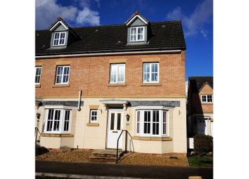 Thumbnail 4 bedroom end terrace house for sale in Phoenix Way, Cardiff