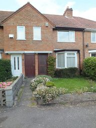 Thumbnail 3 bedroom terraced house to rent in Fox Grove, Acocks Green, Birmingham